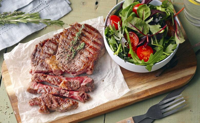 De perfecte steak, ribeye of entrecóte
