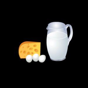 Zuivel, kaas en eieren